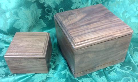 Wood Pet Urn Olympia